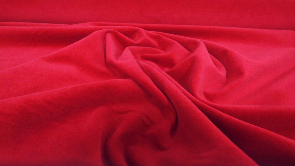 stoffbook stoff stoffe als meterware portofrei rot baumwollsamt samt stoff samtstoff. Black Bedroom Furniture Sets. Home Design Ideas