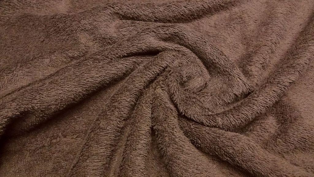 stoffbook stoff stoffe als meterware portofrei dklbraun frottee stoff walkfrottee schwer. Black Bedroom Furniture Sets. Home Design Ideas