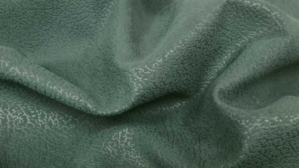 stoffbook stoff stoffe als meterware portofrei dunkelgr n kunstleder lederimitat struktur. Black Bedroom Furniture Sets. Home Design Ideas